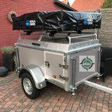 HUUR Outback GO 1200 daktent trailer - bagagewagen