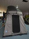 HUUR KOALA CREEK 160L ACTIVE CURVED DAKTENT GRIJS 320 x 160 x 130 cm. voor 2-3 personen_