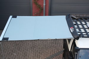 KOALA CREEK®  EXPLORER 4x4 luifel grijs 200x250 cm. Rip-Stop polyester/katoen