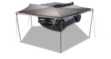 Rhino-Rack Batwing 33400 compact 4x4 luifel 270 graden, montage rechts 200 cm.