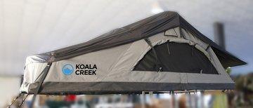 EX VERHUUR KOALA CREEK ® daktent 140L active curved donkergrijs