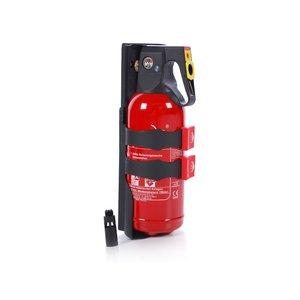 Jockel 2 liter sproeischuim brandblusser met crashtest wandhouder